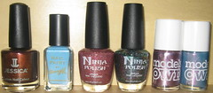 Ninja Polish Order (midnight_aeval) Tags: jessica indie nailpolish barrym modelsown ninjapolish