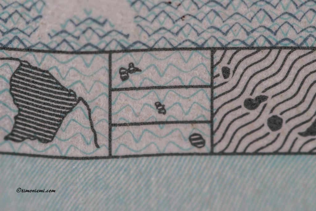 5euroa 025 TimoNiemi Tags Macro Closeup 5 Sharp Bild Euroa Seteli 5euro Timoniemi
