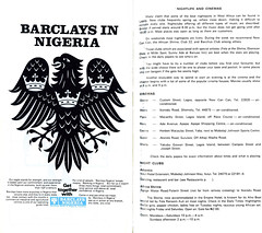 Guide to Lagos 1975 022 barclays nightlife and cinema (amaah) Tags: africa city urban history tourism advertising observation perception culture lagos nigeria 1975 guide economics banking finance toli