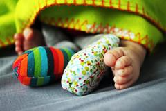 Hug Time (Monsieur S) Tags: baby toy hug teddy doudou bb calin