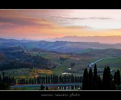 Sunset in Tuscany (marcorenieri) Tags: