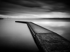 NO GULLS ON MY JETTY. (Neil Hulme.) Tags: longexposure blackandwhite motion black monochrome lumix pier fineart minimalist daytimelongexposure nd110filter blackandwhitelongexposure