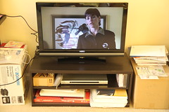 """VZIO 32"""" LCD HD Television & TV Stand"""