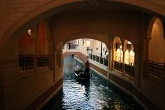 Gondola at Grand Canal Shoppes, The Venetian, Las Vegas (H Svendsen) Tags: vegas lasvegas gondola venetian gondolier thevenetian gondol