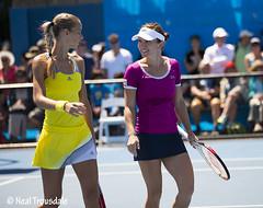 Simona Halep Aranxta Rus (tlaenPix) Tags: australia melbourne tennis romania melbourneolympicpark simonahalep opentenisro aranxtarus australianopen2013