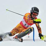 Martin Grasic (WVSC) winning run - U18 Canadian Slalom Champion 2013 PHOTO CREDIT: Herman Koeslag - Eye in the Sky Photo