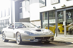 Ferrari 550 Maranello (Adam Kennedy Photography) Tags: sunset sunlight car 50mm nikon bright fast super ferrari showroom preston gt exclusive supercar maranello v12 550 amari adamkennedy worldcars d7000