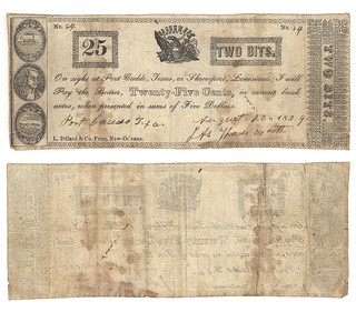 I. A. Wadsworth 25 cents (twenty-five cents) p...