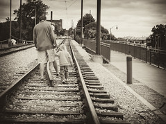 Every father should remember that one day his son will follow his example instead of his advice - Author Unknown. (Just Joe ( Trying to catch up after tax season)) Tags: family boy man sepia for nikon you memphis son well explore fatherandson too congrats on hss deserved slidersunday