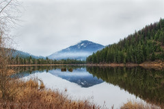 Saturday Drive (SimplyAmy74) Tags: trees winter snow mountains reflection nature beautiful northidaho saturdaydrive