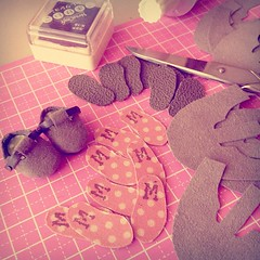 Little shoes on the making ~ #doll #bjd #dollshoes #handmade #latidoll