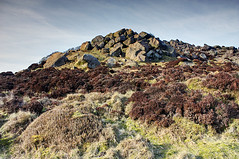 The Roaches, Staffordshire (Photography by Alix) Tags: sunset landscape staffordshire hdr roaches