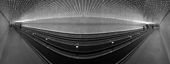 MultiverseesrevitluM (noblerzen) Tags: bw panorama tunnel dcist nga nationalgalleryofart iphone eastwing multiverse leovillareal