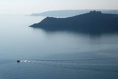 Bretagne (rogermarcel) Tags: ocean blue reflection landscape boat bleu bateau paysage waterscape mygearandme mygearandmepremium rogermarcel