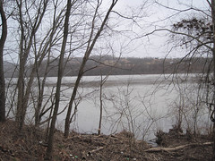 Ohio River Cliffs at Torch (Bitmapped) Tags: ohio usa unitedstates torch rivers mississippiriver ohioriver athenscounty coolville