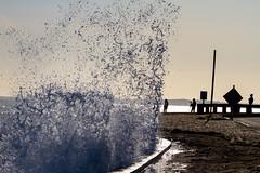 Newport (Sherm Sherman) Tags: ocean new ri winter england snow cold fun island coast rainbow surf wind barrels offshore tubes wave surfing atlantic east rhode blizzard sherm sobad jeremysherman