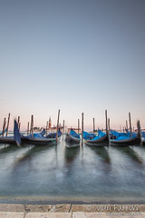 Boats (Dylan Farrow) Tags: longexposure venice water boats evening flickr 2012 pixelpost flickrpost canon5dmarkiii