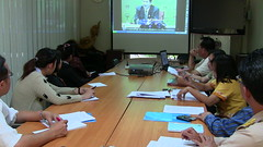 จังหวัดพะเยาร่วมรับฟังคอนเฟรเร้นท์(TV)กรมการพัฒนาชุมชน