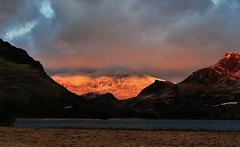 Llyn Nantlle Uchaf (Kevin OBrian) Tags: uk sunset lake wales clouds walking nationalpark nikon snowdon snowdonia stormclouds gwynedd eryri bigpicture llyn northwales nantlle mountsnowdon nanttle kevinobrian