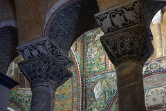Two Chancel Capitals, San Vitale, Ravenna