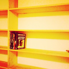 Yay! Beautiful new shelving in the study. Now we can put the ton-crap of books in our collection where they belong. A small victory indeed. (Nino.Modugno) Tags: ny square study squareformat shelving yonkers shelves installed jacksonpollock amaro iphoneography instagramapp uploaded:by=instagram foursquare:venue=4eee867277c82b92f94a0e21