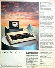 BBC Microcomputer (Lost-Albion) Tags: 1982 acorn bbc advert microcomputer computor thesundayexpressmagazine