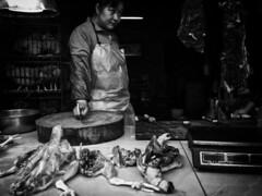 Poultry traders (Keith Kwok) Tags: china bw blackwhite candid tx sony snapshot streetphotography snap urbanlife foshan 佛山 snapphotography streetsnap xperia livinginthecitycity