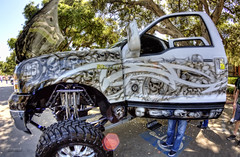 Hi Roller Raider (dmentd) Tags: ford excursion airbrush raidernation
