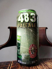 483 Pale Ale (knightbefore_99) Tags: usa green beer cerveza ale craft can iowa pale copper marker apa pivo malt 483 greatriver