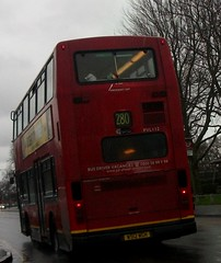London General PVL112 on route 280 Morden 17/03/13. (Ledlon89) Tags: bus london volvo general transport morden londonbus tfl pvl goahead plaxtonpresident