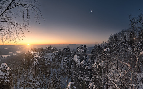 A very cold sunrise