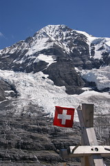 Swiss Flag (Klub Hortensja) Tags: mountain alps switzerland swiss flag whitecross