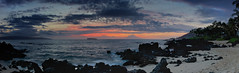 Tranquility (Glen Thuncher) Tags: leica panorama beach hawaii sandy secretbeach rangefinder maui pacificocean fullframe fx makena m9 summicron35mmf2lens leicam9 agm9 cs6stitch