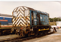 09004 (marcus.45111) Tags: uk blue london br junction 1993 norwood built shunter class09 stabled 201193 09004