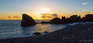 Sunset at Dritvík