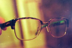 New glasses! (CleoGreaves) Tags: film canon glasses negative wan gok neg canon1000f