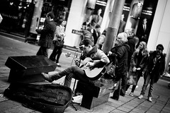 Elvis (stephen cosh) Tags: life street city people blackandwhite bw sepia mono scotland town glasgow candid streetphotography rangefinder reallife humancondition blackandwhitephotos 50mmsummilux blackwhitephotos leicam9 stephencosh leicammonochrom leicamm