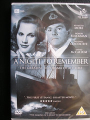 A Night To Remember DVD 1958. UK. (Jimmy Big Potatoes) Tags: films movies dvds vhs rmstitanic