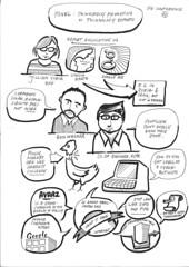 DIE Conference: Jillian York, Ben Wagner, Olaf Boehnke (cucchiaio) Tags: game chickens promotion ads freedom democracy bahrain actors google julian die technology graphic iran head internet communication research politicians syria change conference sopa independence information googleearth development activists pipa policy exports csr ict corporations regulations googleads acta ict4d headlesschicken corporatesocialresponsibility graphicfacilitation vetting graphicrecording avaaz circumvention sketchnotes juliankücklich juliankucklich cyberactivists deutschesinstitutfürentwicklungspolitik exportregulations kücklich kucklich