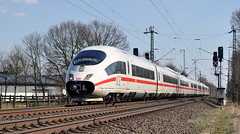 406 011 Voerde 07.04.2013 (hansvogel51) Tags: ice train germany deutschland siemens eisenbahn db ice3 elektrotriebwagen br403