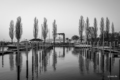Grey Lake (Q-BEE) Tags: travel lake harbour urlaub ostern bodensee lakeconstance