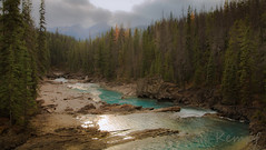 Kicking Horse (Camera-Tales) Tags: park travel autumn trees vacation panorama horse mountain canada mountains fall tourism nature water forest river landscape rockies outdoors solitude view natural britishcolumbia rocky peaceful columbia canadian pines national journey enjoy vista british majestic kicking yoho wapta kickinghorseriver