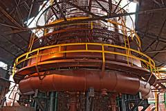 "Sloss Furnaces 2013, industrial blast furnance tower (HDR) (divemasterking2000) Tags: iron april furnace ore blast apr ironore sloss blastfurnace smelting furnaces slossfurnaces 2013 blastfurnaces slossfurnaces""slossfurnaces""blast""blastfurnace""""blastfurnaces""alalabamabirmingham""birmingham"