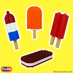 Popsicles (bruceywan) Tags: ice dessert frozen lego cream twin sandwich pop creamsicle popsicle photostream firecracker moc ib3 ironbuilder brucelowellcom ibbl3