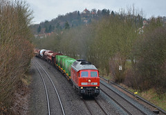 Hersbruck Ludmilla (Rhysj17) Tags: germany munich grey diesel nuremberg db april deutschebahn freight ludmilla freighttrain 233 hersbruck diesellocomotive class233