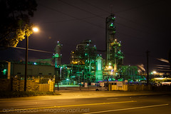 Chevron Refinery (Images by April) Tags: night canon nightshot 5d chevron refinery elsegundo markii chevronrefinery chevronoilrefinery