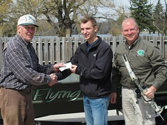 Check presentation at Eagle Spring Lake (Dan Small Outdoors) Tags: carp jimwallis tomday brianwallis bowfishing roughfish eaglespringlake dansmall outdoorsradio carpremoval