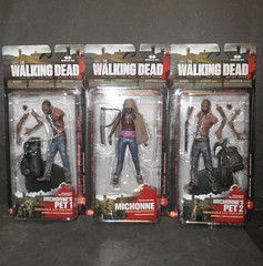 TWD Michonne & pets (mikaplexus) Tags: favorite monster toy toys zombie mint fave collection wicked monsters collectible zombies mib collectibles mcfarlane mcfarlanetoys unopened walkingdead twd thewalkingdead ireallylike mintinbox i3toys