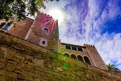 Palacio Real de La Almudaina, Palma de Mallorca. Royal Palace of La Almudaina, Palma de Mallorca. (Jononse) Tags: palace palacio royal real palmademallorca islasbaleares balearicislands stone piedra historia historic