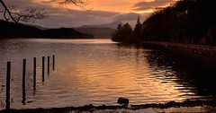Loch Ard (richbriggs28. Love being a grandad :)) Tags: lochard richbriggs28 sunset scotland loch ard benlomond ben lomond